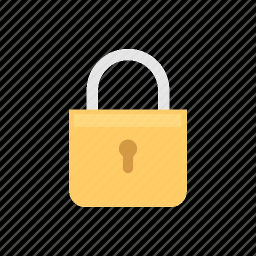locked, padlock, safety, security icon