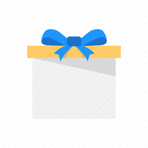 box, gift, package, ribbon icon