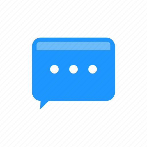 chat, conversation, message, online icon