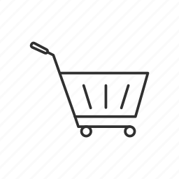 cart, goods, online shopping, product, shopping icon