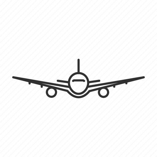 airplane, fly, plane, shipping icon