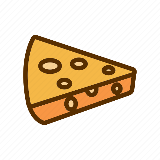 cheddar, cheese, delicious, meal, portion icon
