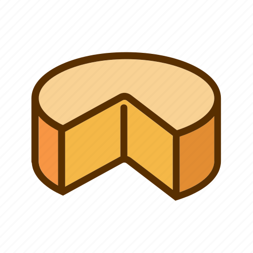 Cheddar, cheese, foodstuff, meal, piece icon - Download on Iconfinder