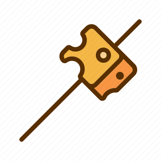 cheddar, cheese, food, slice, stick icon