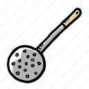 chef, elements, hand drawn icon