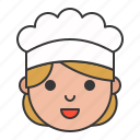avatar, chef, cook, job, professional icon