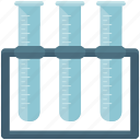 chemistry, experiment, lab, laboratory, test, tubes icon