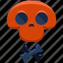 bones, chemistry, danger, lab, laboratory, lethal, skull