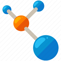 chemistry, compound, experiment, lab, laboratory, molecules icon