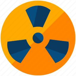 chemistry, danger, hazard, hazardous, lab, laboratory, nuclear icon