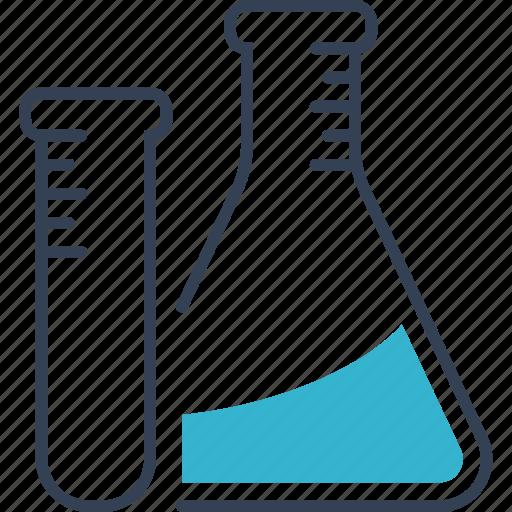 chemistry, flask, fluid icon