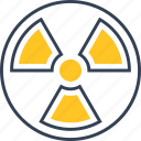 chemistry, danger, radiation icon