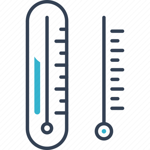 chemistry, degree, thermometer icon