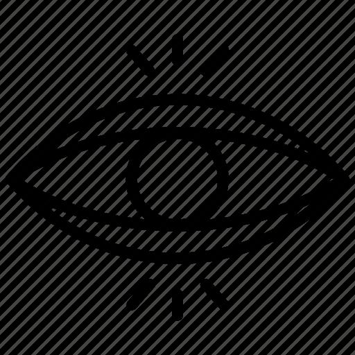 body part, eye, eyesight, ophthalmology, organ icon