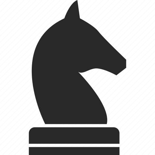 chess, game, game piece, knight icon