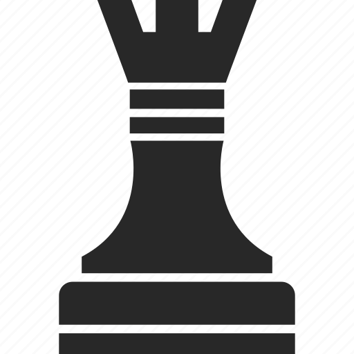 chess, game, game piece, rook icon