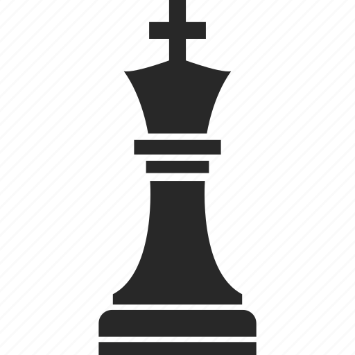 chess, game, game piece, king icon