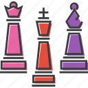 bishop, chess, game, king, piece, pieces, queen icon