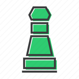 chess, game, pawn, piece, play, strategy icon