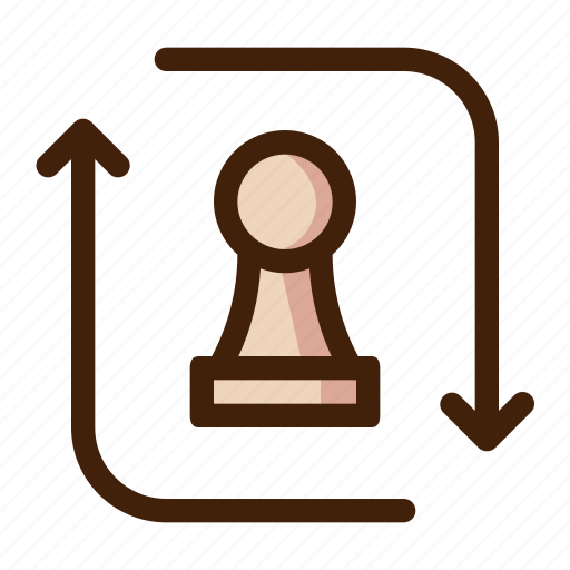 board, chess, game, pawn, piece, promotion, sport icon