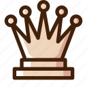 board, chess, game, king, piece, queen, sport icon