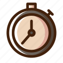 board, chess, game, piece, sport, stopwatch, timer icon