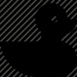duck, rubber icon