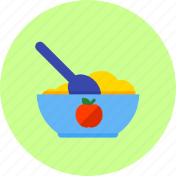 baby, eating, food, healthy, infant, meal, newborn icon