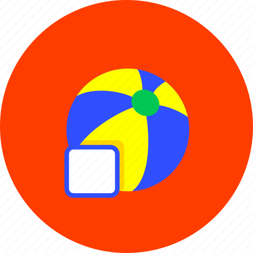 ball, game, kids, newborn, play, sport, toy icon