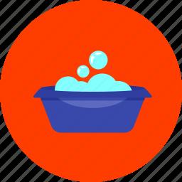 baby, bath, bathtub, infant, newborn, shower, toy icon