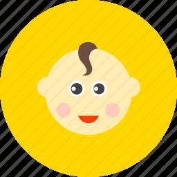 avatar, baby, boy, child, infant, kid, newborn icon