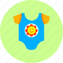 baby, clothes, dress, fashion, kombidress, newborn, wear icon