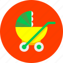 baby, children, infant, mother, newborn, pram, toy icon