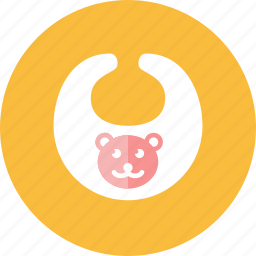 apron, baby icon