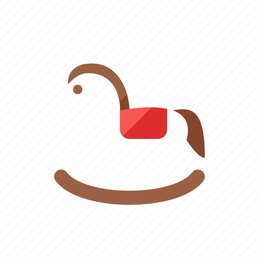 horse, wooden icon