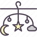 care, children, nap, night, parenting, room, sleep icon