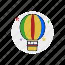 air, airship, balloon, flight, fly, gas, sky icon