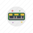 instrument, key, keyboard, music, musical, piano, sound icon