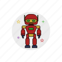 character, element, mechanical, robot, robotic, science, toy icon