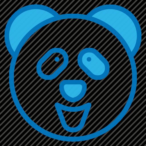 animal, bear, china, mammal, panda icon
