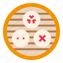 bun, china, dimsum, food, steamed icon