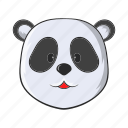 animal, asia, cartoon, china, panda, wild, wildlife icon