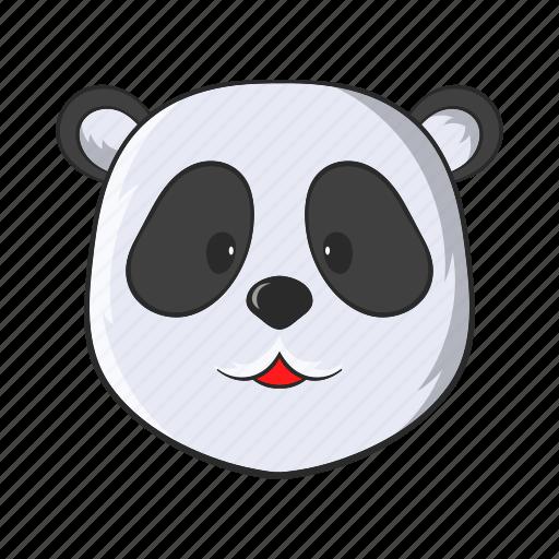 animal, asia, cartoon, china, panda, wild, wildlife icon