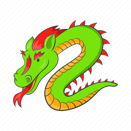 asia, cartooon, china, chinese, culture, dragon, traditional icon