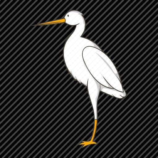 animal, bird, cartoon, chinese, crane, nature, wing icon