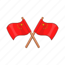 cartoon, china, chinese, country, flag, nation, national icon
