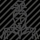 ancient, chinese, general, marshal, regent, war, warrior icon