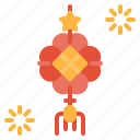 amulet, asian, carp, chinese, decorations icon