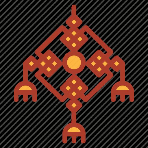 amulet, asian, carp, chinese, decorations, new, year icon