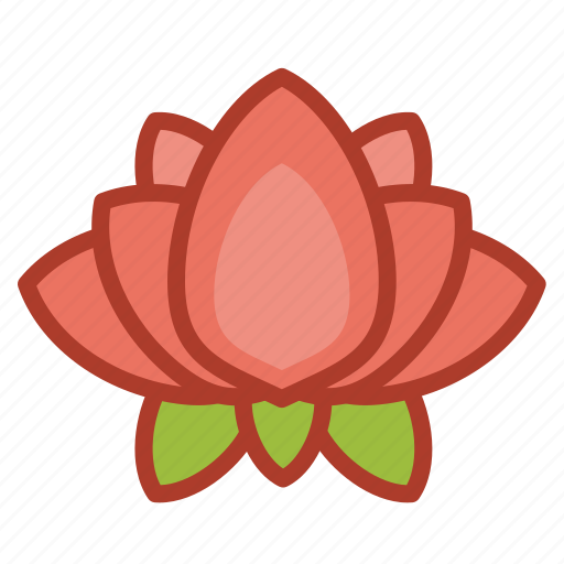 Asian, chinese, decorations, flower, lotus icon